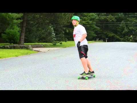Slow Motion Longboard Slide Edit