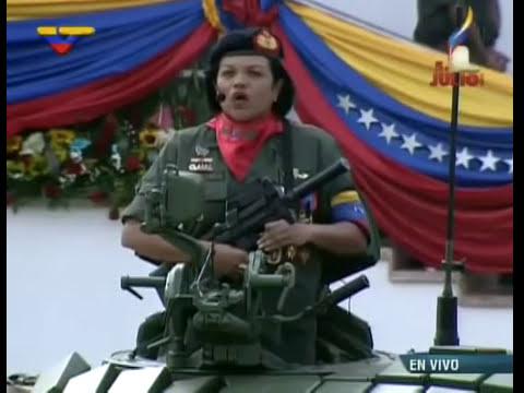 Desfile Cívico-Militar por el 203° aniversario de la Independencia de Venezuela  5 de julio, 2014 0