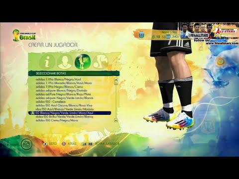 EA 2014 FIFA World Cup Botines Botas - FIFAALLSTARS.COM