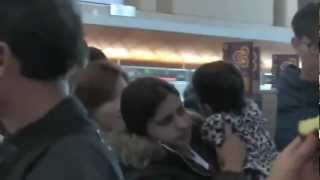 [Fancam] 121111 SNSD Airport LAX Departure (Taeyeon)