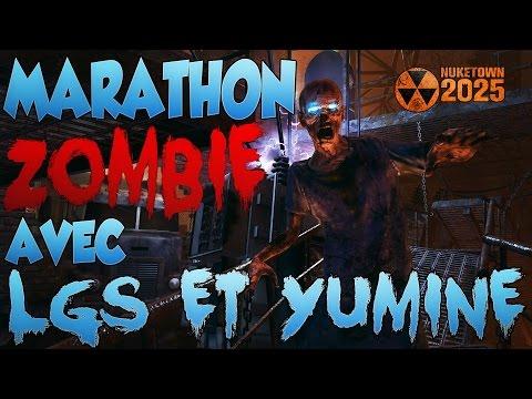 Marathon Zombie sur Nuketown avec Yumine et LGS : LES NOOBS en Zombie