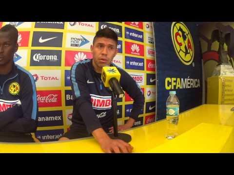 Conferencia Oribe Peralta previo América vs Santos Laguna