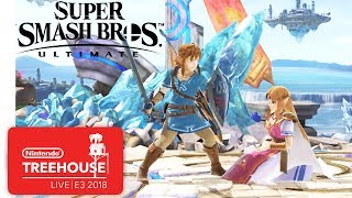 Super Smash Bros. Ultimate Character Gameplay Demo - Nintendo Treehouse: Live | E3 2018