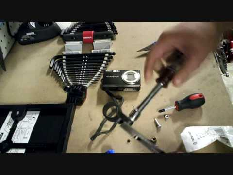 Homemade camera mount for bicycle or motorcycle handlebars cheap (virtually free)
