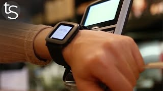 Contactless Payments on Pebble Watches?! Pagaré First Look