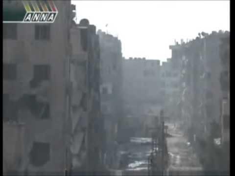 قناص روسي يقتل السوريين وشبيحة الاسد (كلنا رهن اشارتك)
