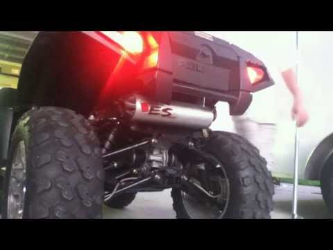 Piolaris Sportsman 850 xp EPS with Big Gun Eco Exhaust