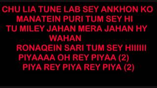 download lagu Piya Oh Rey Piya Lyrics Tere Naal Love Ho gratis