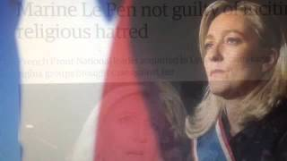 Marine Le Pen Not Guilty of Hate,  Nationalist or Globalist ?