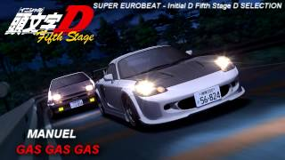 (5.98 MB) Initial D 5th Stage Soundtrack  GAS GAS GAS Mp3