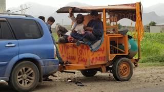 خليكم مع البنشر السفري اليمن خط الساحل جبل راس سقم