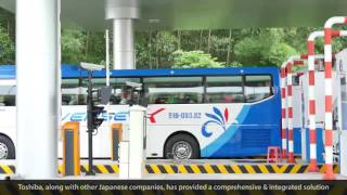 【Toshiba】Vietnam's North-South Expressway ITS project