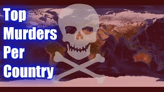 video Top 10 Murders per Capita / Country, this video looks at the list of counties by international homicide rates. These countries suffer from some pretty serious social problems ranging from gang...