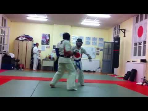 Kyokushin training (Thumeries) Image 1