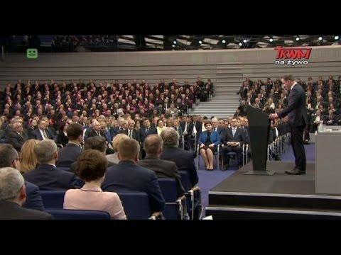 Uroczyste Zgromadzenie Narodowe Z Okazji 1050. Rocznicy Chrztu Polski W Poznaniu
