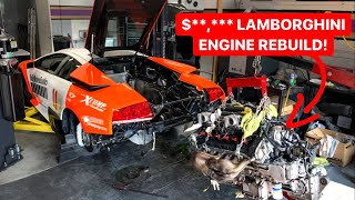 YOU WONT BELIEVE HOW CHEAP REBUILDING A LAMBORGHINI V12 IS???