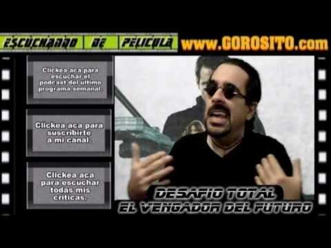 EL VENGADOR DEL FUTURO / Desafio  total - comentario / review / reseña / critica de la pelicula
