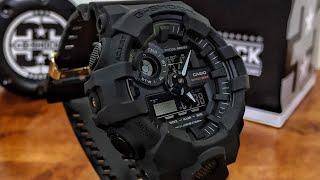 Casio G-Shock 35th Anniversary GA-735A-1AJR Big Bang Black watch unboxing & review