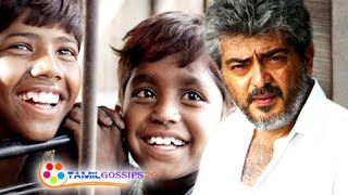 Will Ajith Meet Kakka Muttai Children?...