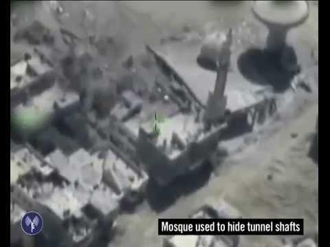 IDF Forces Find & Destroy Terror Tunnel In Gaza Mosque
