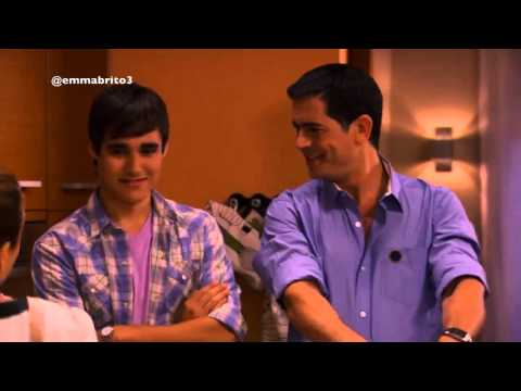 Violetta 1 - Germán invita a comer a León (parte 1/2) (01x36)