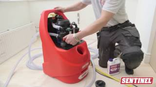 How to powerflush a central heating system (1/2)