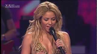 Shakira - Loca (Sexy Live Show I, X Factor Finale + Interview HD / HQ)