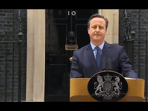 David Cameron announces EU referendum date