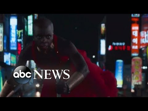 'GMA' Hot List: Danai Gurira 'moved' by the response to 'Black Panther'