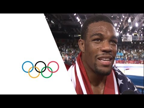 Wrestling Men's Freestyle 74 kg Final - Goudarzi v Burroughs - London 2012 Olympic Games Highlights Image 1