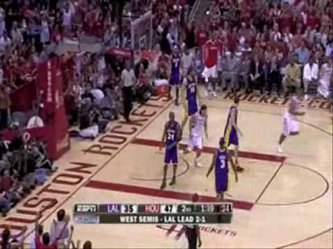 Lakers-Rockets 87-99 I Gasol 30pts,9reb,Bryant 15pts vs Brook C-H 34pts,Battier 23pts[5 3-pointers]