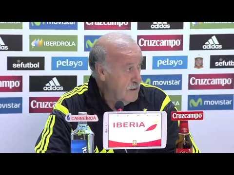 Vicente Del Bosque prepares Spain squad for Costa Rica friendly