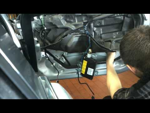 BMW 3 Series E46 Front door trim. window. motor and regulator How to DIY: BMTroubleU