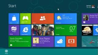 Windows 8 with Mouse and Keyboard Preview