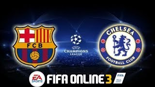 FIFA Online 3 - Multiplayer - 1v1 Ranking: FC Barcelona VS Chelsea (Gameplay #7)