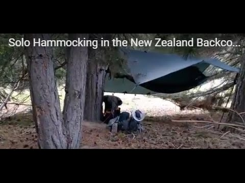 Solo Hammocking in the New Zealand Backcountry