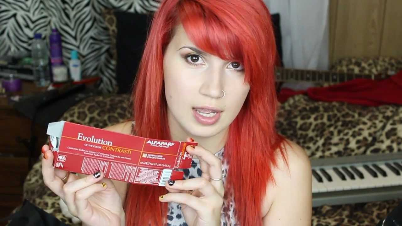 RED HAIR DYES Similar To Majicontrast YouTube