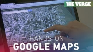 Google Maps hands-on preview