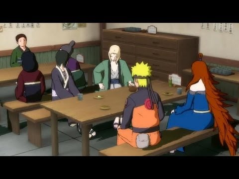 Naruto and Tsunade chat with Mizukage : Naruto Shippuden Ultimate Ninja Storm 3