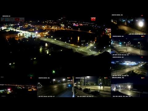 Россия Омск прямой эфир. Russia Omsk live. Ремонт - открытие Юбилейного моста.