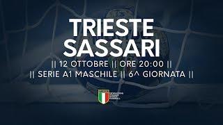 Serie A1M [6^]: Trieste - Sassari 25-29