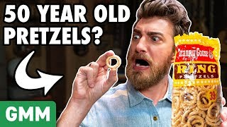 50 Year Old Pretzel Taste Test