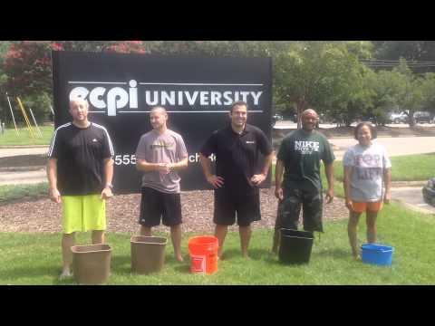 ECPI University ALSIcebucketchallenge Virginia Beach Admissions Team