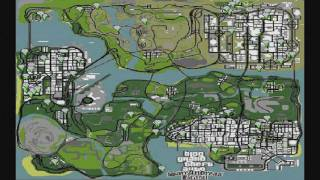 Mapa dos Buquês de Flores no GTA San Andreas HD