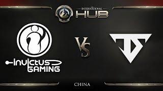 Invictus Gaming vs Team Serenity Game 1 - TI8 China Regional Qualifiers: Winners' Finals