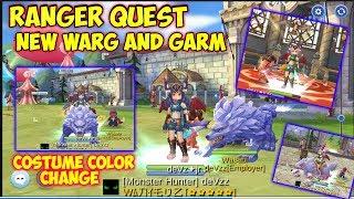 Ranger Quest | New Warg and Garm | Costume Color Change | Ragnarok Mobile Eternal Love