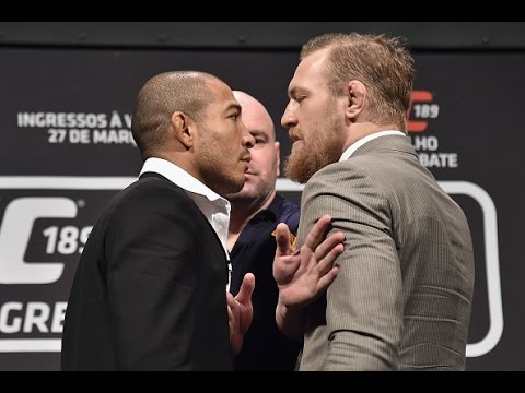UFC 189: World Tour Press Conference - Rio Highlights