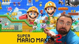 LIVE - Viewer levels and more  [Super Mario Maker 2]