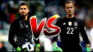 Download Kevin Trapp vs Marc-andré Ter Stegen ● 2017 |Who's the best German goalkeeper| HD 3Gp Mp4
