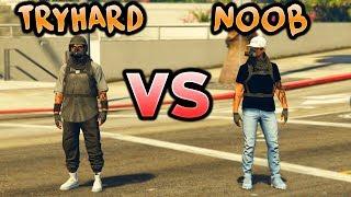 TRYHARD vs NOOB - GTA 5 Online